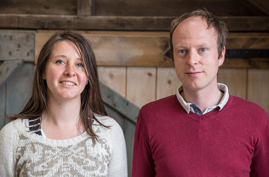 The first Custom Build home pioneers in Cornwall, Ellie and Nathan Billings